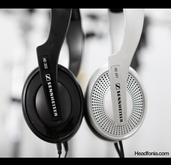 Orthodynamic Sennheisers