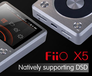 Fiio Standard Banner X5SG AUGUST (Till 31/5/2016)