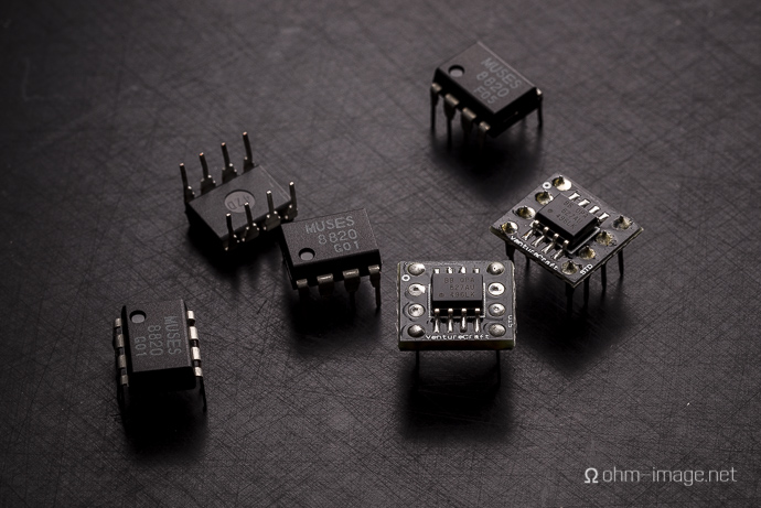 Picture Sunday: An op-amp tight fit?