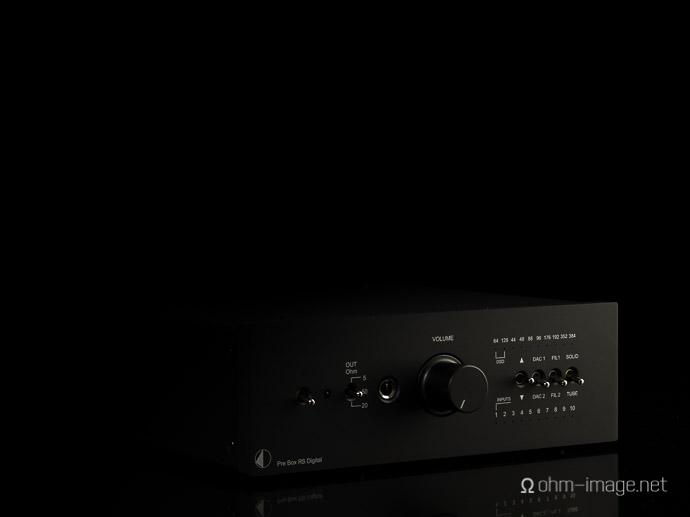 Pro-Ject Pre Box RS Digital fascia-1