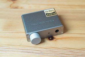 Review: Nuforce uDAC5 – HEM6 without the earphone and with a knob
