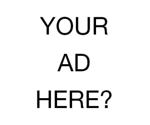Your ad Here Std Banner