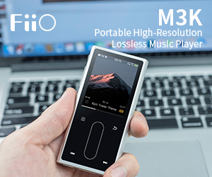 Fiio std Banner M3K Till End May 2019
