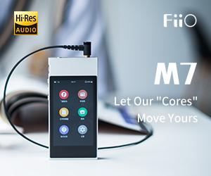 Fiio std Banner M7 Till End May 2019