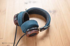 Picture Sunday: Beautiful Audio's Grado headband and earpad mods